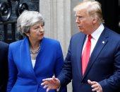 """رئيسة وزراء بريطانيا: لغة ترامب عن عضوات بالكونجرس """"غير مقبولة بالمرة"""""""