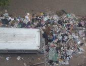 تراكم القمامة شكوى أهالى شارع شبرا مصر