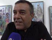 """معرض """"غرقى فى البحر"""" لـهاشمى عامر يعرف بالفن التشكيلى الجزائرى"""