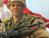بعد استشهاد ضابط وأمين شرطة وجنديين.. تشكيلى ينشر لوحة فنية تحية لحراس مصر