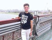 قارئ يشارك بصور من محور روض الفرج احتفالا بعيد الفطر