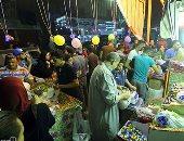 """""""يا ليلة العيد أنستينا""""..فرحة المصريين تملأ الشوارع والمقاهى ومحلات التسوق"""