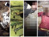تصفية 6 من أخطر العناصر الإجرامية فى مأمورية ضبط قاتل معاون مباحث أبو حماد