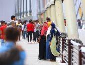 أول عيد على كوبرى تحيا مصر.. أعرض جسر معلق فى العالم