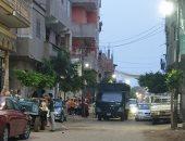 الدفع بسيارات أمن إضافية لتأمين صلاة عيد الفطر بقرية محمد صلاح