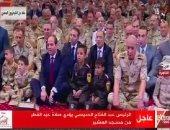 بث مباشر لصلاة عيد الفطر من مسجد المشير بحضور الرئيس السيسى