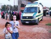 صور.. 23 سيارة إسعاف لتأمين احتفالات عيد الفطر بالوادى الجديد