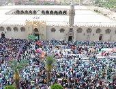 المحافظون ومدراء الأمن يؤدون صلاة عيد  الفطر المبارك