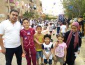 العيد يحب اللمة.. محمد يشارك بصور احتفالات أهالى مشروع مبارك بعيد الفطر