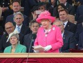 الملكة إليزابيث تحيى الذكرى 75 ليوم الإنزال البحرى بحضور ترامب وميركل وماكرون