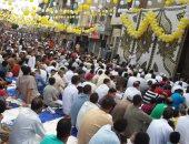 صور.. بالبلالين أهالى إيتاى البارود يحتفلون بالعيد عقب الصلاة