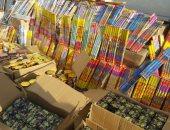 حجز تاجر ضبط بحوزته 880 ألف صاروخ من الألعاب النارية فى الجمالية