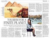 أكبر صحف الهند تبرز إجراءات مصر لتطوير السياحة فى حوار مع الدكتورة رانيا المشاط