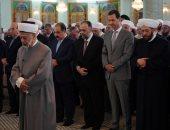 الرئيس السورى يؤدى صلاة عيد الفطر فى دمشق