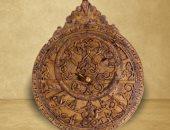 شاهد الفن الإسلامى.. آلة فلكية قديمة من النحاس المكفت بالذهب والفضة