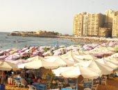 """ضبط مخالفة فى الأسعار بشاطئ المندرة السياحى..و""""المصايف"""": فسخ التعاقد بعد العيد"""