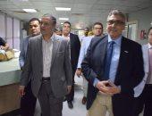 رئيس جامعة بنها يتفقد المستشفى الجامعى فى ثانى أيام عيد الفطر