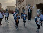 """رقص وألعاب نارية.. أجواء عيد الفطر المبارك فى مدينة دبى """"صور"""""""