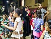 الكنيسة الرسولية بروض الفرج تشارك أهالى المنطقة فرحة عيد الفطر