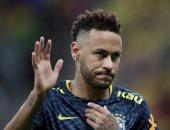 نيمار يخرج مصابا خلال مباراة البرازيل الودية ضد قطر