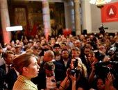 صور.. فوز الحزب الديمقراطى الاشتراكى بانتخابات البرلمان فى الدنمارك بـ25.9%