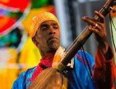 المعلم حسن بوسو يفتتح مهرجان الصويرة للجناوة فى المغرب
