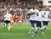 هولندا ضد إنجلترا.. الأسود الثلاثة يتقدم بهدف راشفورد فى الشوط الأول