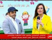 محمد هنيدى: مافعله الرئيس لمسة إنسانية.. وشرفت بحضور احتفالية أبناء الشهداء