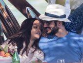 شاهد.. ريهانا وحسن جميل يستمتعان برحلة بحرية رومانسية في إيطاليا