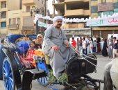 صور.. الحنطور والكورنيش والمراكب النيلية أبرز مظاهر احتفالات العيد بالأقصر
