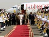 رئيس وزراء إثيوبيا يجتمع مع قادة الجيش فى السودان