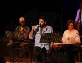 """أمسية شعرية لـ عمرو حسن على مسرح ساقية الصاوى """"صور"""""""