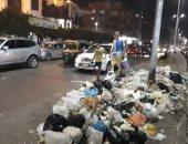 قارئة تشكو من انتشار القمامة بحدائق القبة بالقاهرة