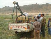 استمرار الطوارئ فى 52 قاعدة لمكافحة أسراب الجراد جنوب أسوان (صور)