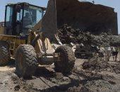 صور .. إزالة 23 حالة تعدى على الأراضى الزراعية وأملاك الدولة بالبحيرة