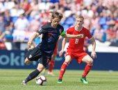 منتخب كرواتيا يهزم ويلز فى تصفيات يورو 2020.. فيديو