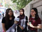 فيديو.. طلاب الثانوية العامة: امتحان العربى سهل وشاومينج بيضللنا