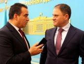 نائب وزير خارجية كازاخستان: علاقاتنا مع مصر تاريخية عززتها زيارة السيسى