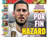هازارد حديث صحافة اسبانيا بعد انتقاله إلى ريال مدريد.. صور