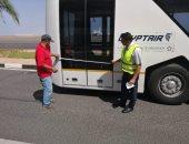 استعدادات بمطار شرم الشيخ لاستقبال الوفود المشاركة بمنتدى مكافحة الفساد