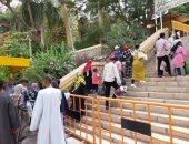 صور.. الحديقة النباتية بأسوان تستقبل 2915 زائرا بينهم 90 سائحا أجنبيا