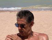 زكريا ناصف على شاطئ الجونة قبل بداية رحلة التخطيط للأهلى