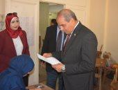 رئيس جامعة الأزهر يتابع سير الامتحانات بكليات القاهرة