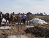 صور.. إزالة 613 حالة اشغال و6 حالات تعدى على الأراضى الزراعية بالبحيرة