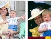 الصغير يلبس من الكبير..هل ارتدى الأمير لويس ملابس عمه هارى من 30 سنة؟