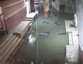 غرق منطقه النبرواى بأبو زعبل بمياه الصرف الصحى منذ 10 أيام