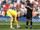 بيكفورد حارس إنجلترا يسجل ضد سويسرا على طريقة رونالدو.. فيديو