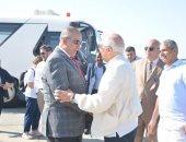 فى زيارة غير رسمية.. محافظ البحر الأحمر يستقبل وزير خارجية إسبانيا بالغردقة