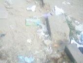 صور.. شكوى من تهالك رصيف شارع 12 الملاحة جامعة بورسعيد فى بورفؤاد