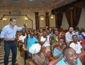"""""""الشباب الرياضة"""" تعقد جلسة عمل للتعرف على ثقافات وخبرات الدول الإفريقية"""